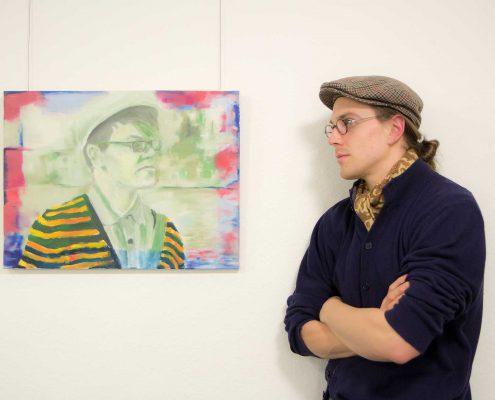 Moritz Stotzka im Portrait