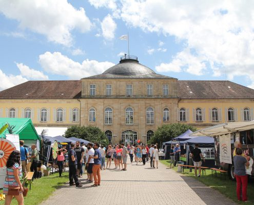 Dies Academicus im Schloss Innenhof