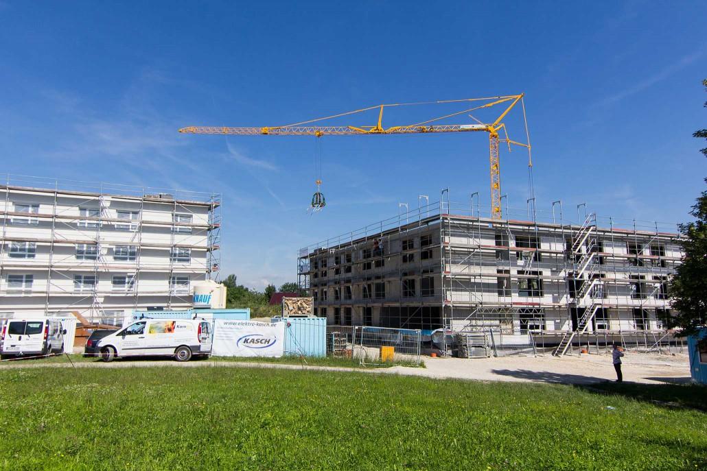 Am Freitag, 26.06.2015, wurde das Richtfest für die neue studentische Wohnanlage auf dem Campus der Hochschule Reutlingen gefeiert.