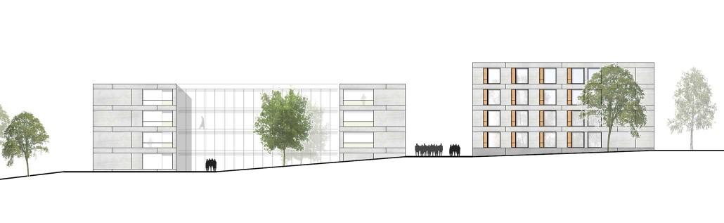 Architekten Reutlingen wohnheimneubau in reutlingen architektenwettbewerb abgeschlossen