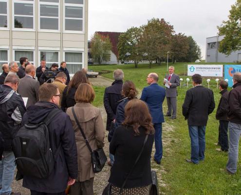 2014-09-22 Spatenstich Wohnheim Reutlingen 01
