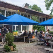 Cafeteria Clubhaus Garten