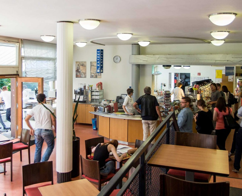 Cafeteria Clubhaus innen