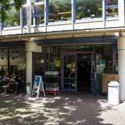 Cafeteria Theologikum Eingang