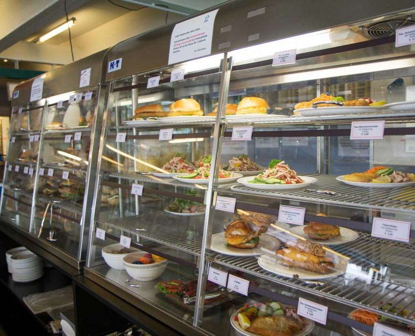 Cafeteria Wilhelmstrasse Ausgabetheke