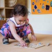 Kita Villa Tuebingen spielendes Kind