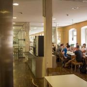 Mensa Nuertingen Cafeterienbereich