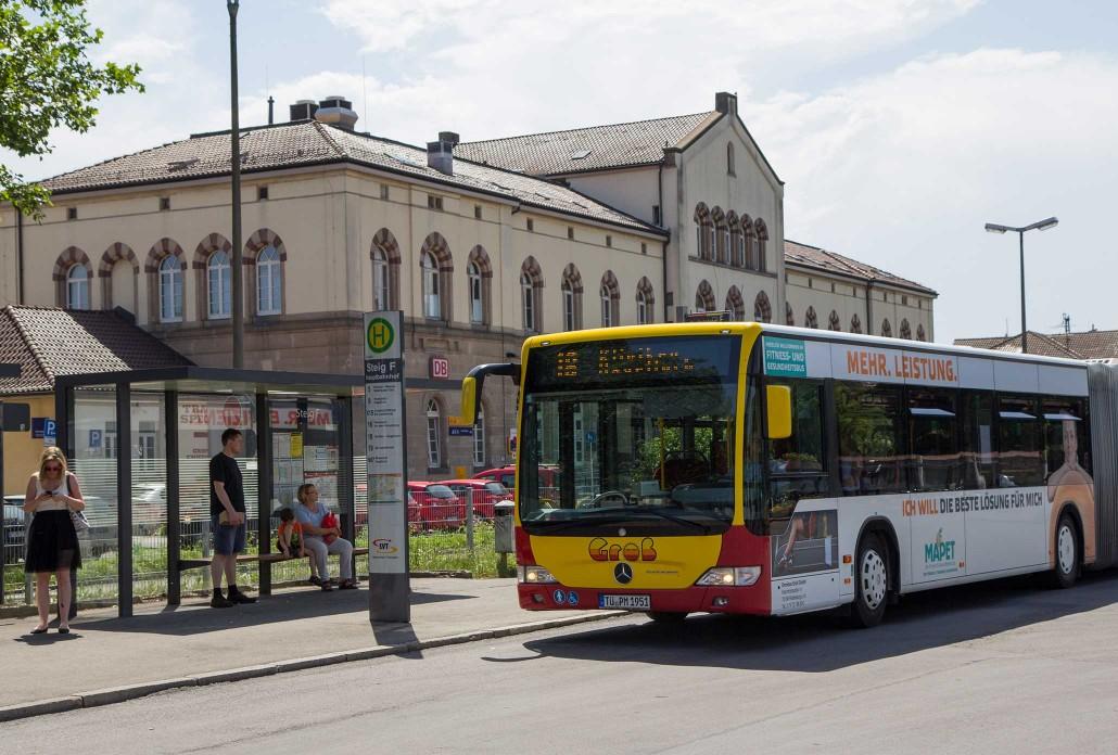 Mobil Nahverkehr Bahnhof