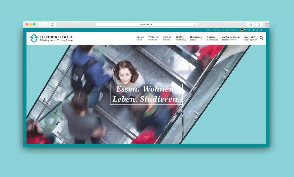 Neue Website Startseite