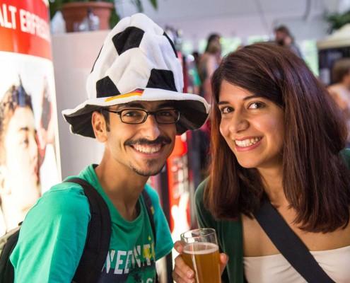 Public Viewing Hohenheim WM 2014 - 01