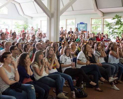 Public Viewing Hohenheim WM 2014 - 03