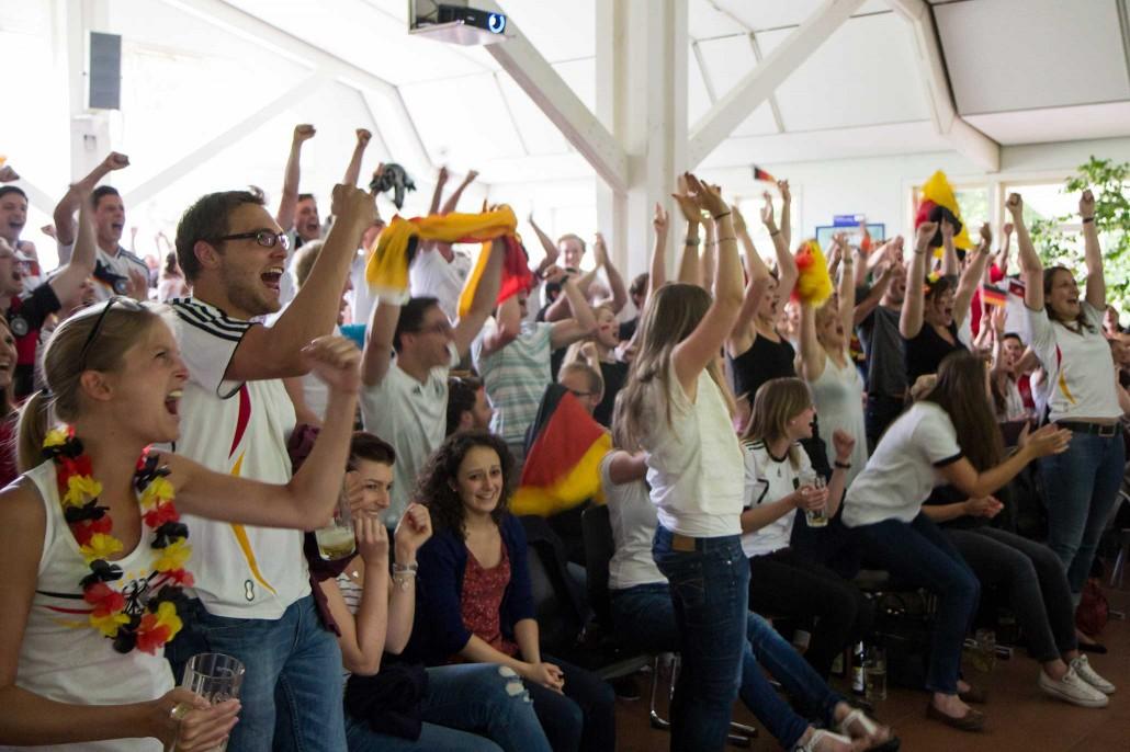 Public Viewing Hohenheim WM 2014 - 05