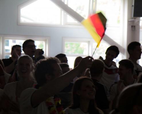 Public Viewing Hohenheim WM 2014 - 07