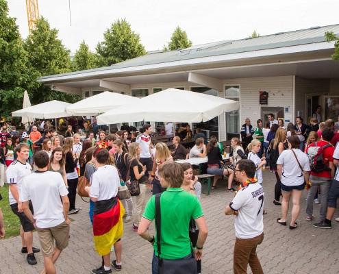 Public Viewing Hohenheim WM 2014 - 08