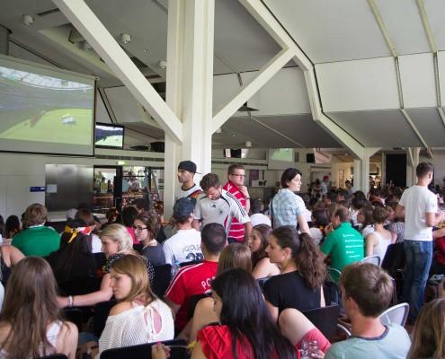 Public Viewing Hohenheim WM 2014 - 09