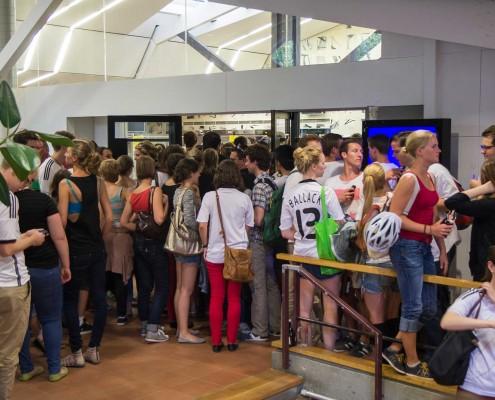 Public Viewing Hohenheim WM 2014 - 11