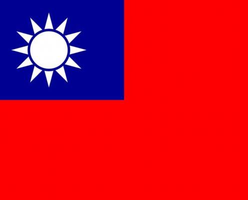 Taiwan-Flagge