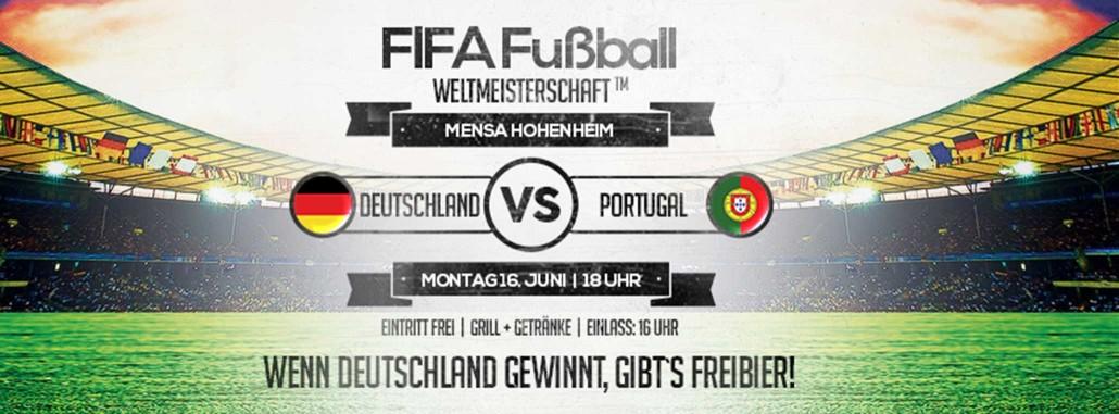 WM 2014 Deutschland Portugal