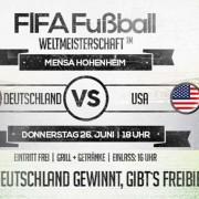 WM 2014 Deutschland USA