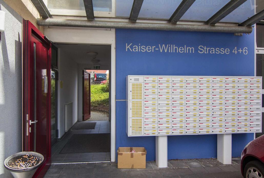 Wohnheim Geislingen - Kaiser-Wilhelm-Straße 4-6 - Außenansicht