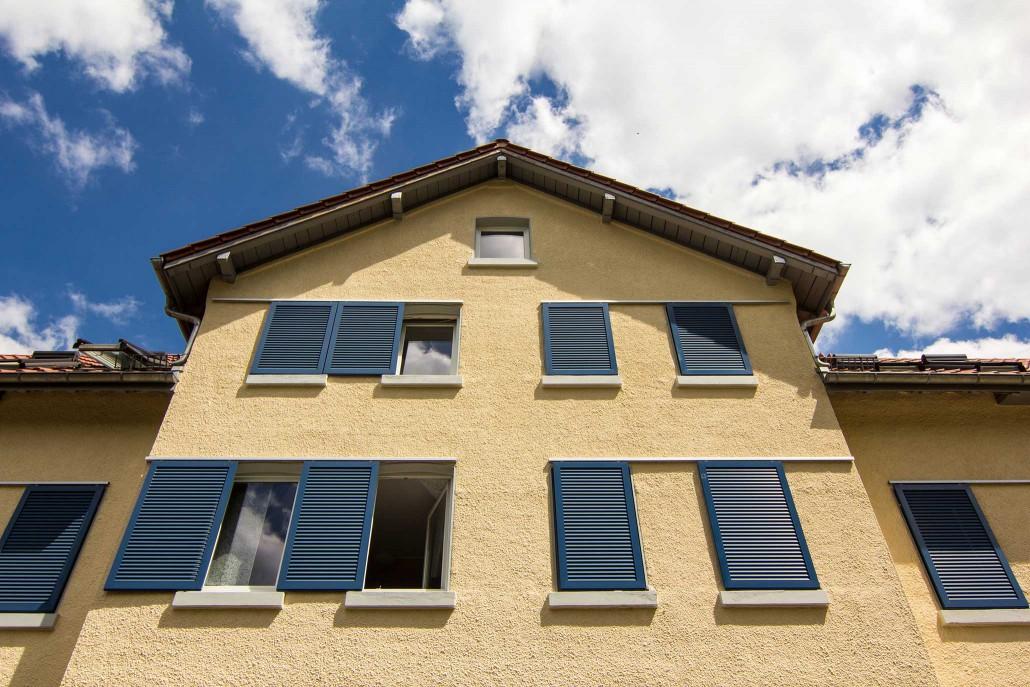 Wohnheim Geislingen - Kaiser-Wilhelm-Straße 8-12 - Außenansicht