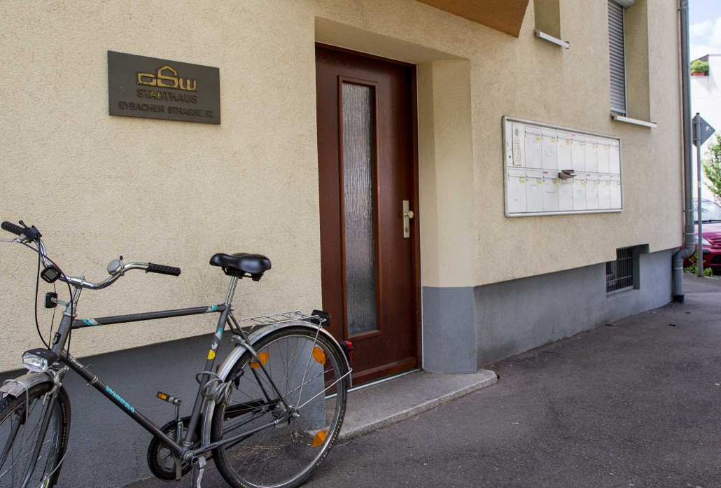 Wohnheim Geislingen - Kantstraße 2 - Außenansicht