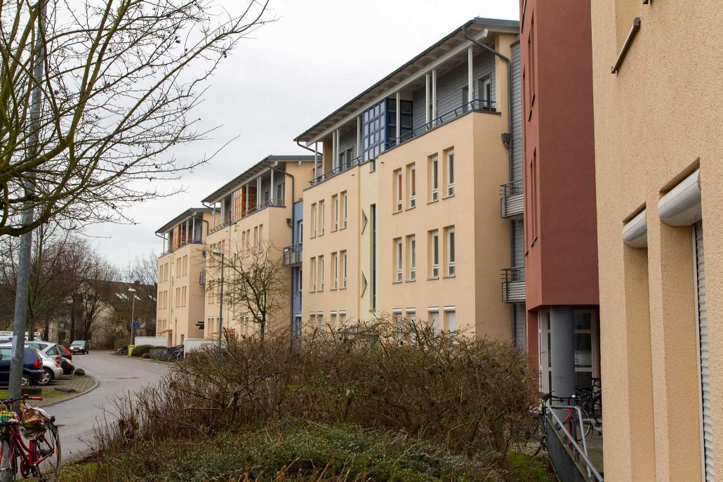 Wohnheim Hohenheim - Im Chausseefeld 1-9