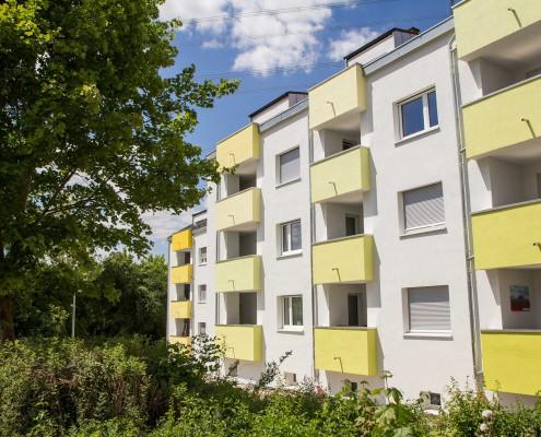 Wohnheim Sudetenstraße 125-129 - Außenansicht