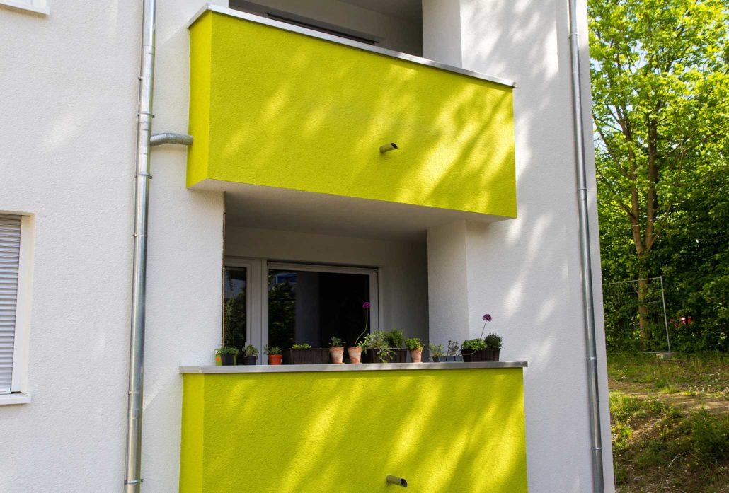Wohnheim Sudetenstraße 125-129 - Balkon