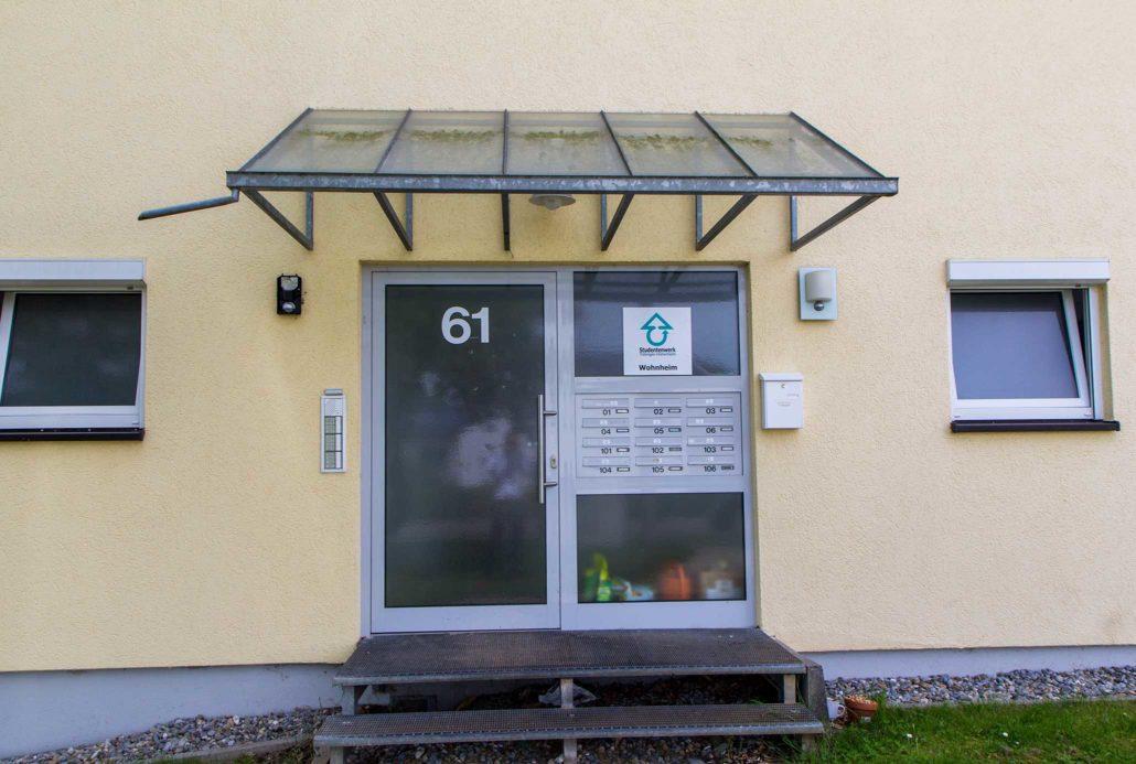 Wohnheim Rottenburg - Magdeburger Straße 59-61 - Außenansicht