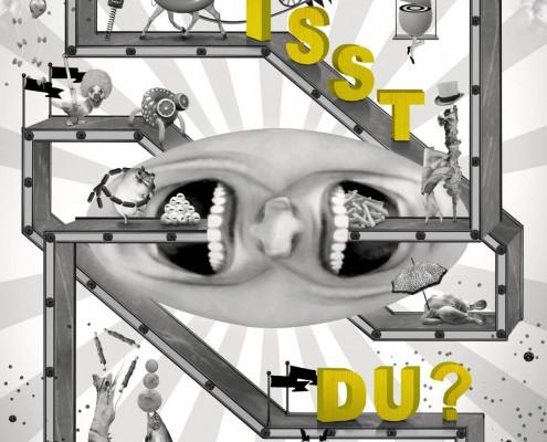"""27. DSW-Plakatwettbewerb """"Was isst du?"""""""